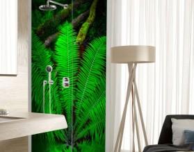 PAPROCIE - panel szklany do łazienki