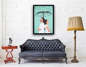 COUPLE - plakat miłosny