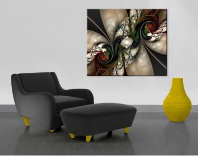 Obrazy na szkle i płótnie - motyw Abstrakcja