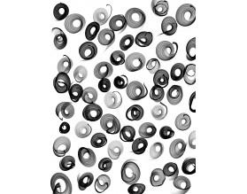 SWIRL - obraz na szkle - grafika
