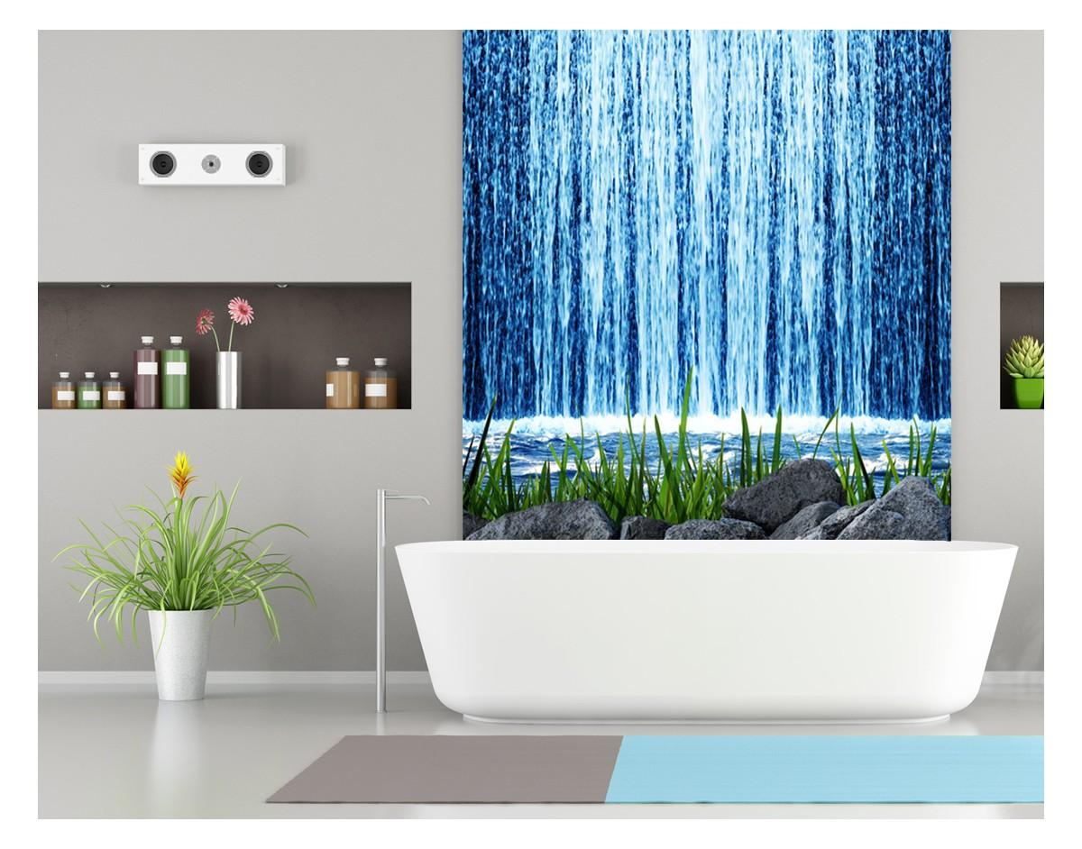 Wodospad Zen Panel Szklany Na Wymiar Do łazienki