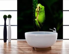 ŻABKA - panel szklany do łazienki