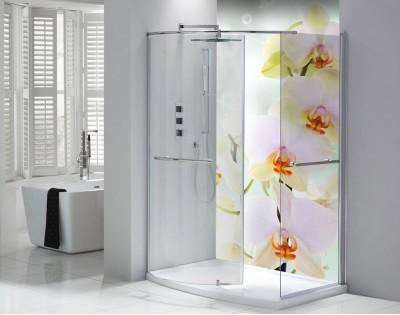 ROZŚWIETLONE STORCZYKI - panel szklany do łazienki