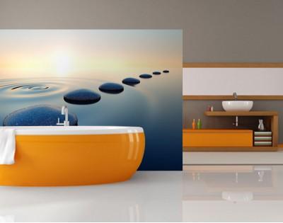 RELAKS - panel szklany do łazienki