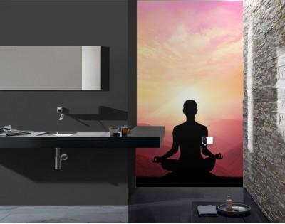 ZEN - szklany  dekor do łazienki