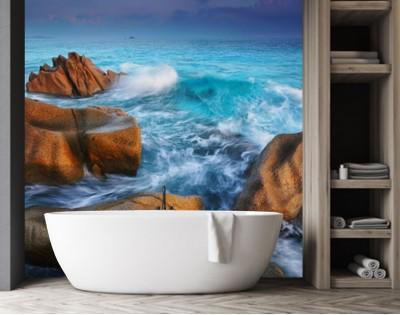 SESZELE - panel szklany do łazienki