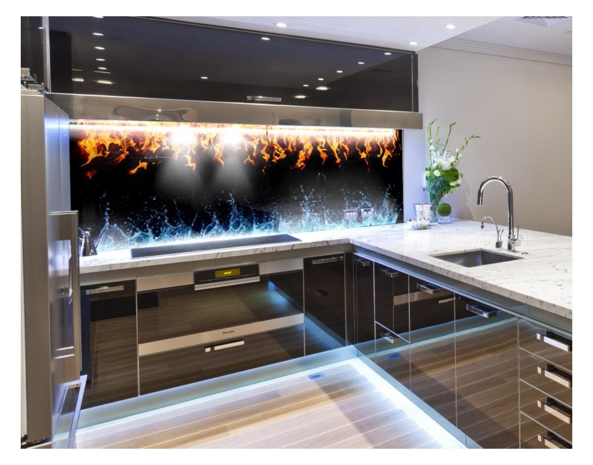 ywio y nowoczesny hartowany panel szklany do kuchni dekoracje cienne sklep internetowy. Black Bedroom Furniture Sets. Home Design Ideas