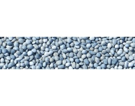 BLUE STONES - panel szklany kuchenny - grafika