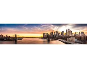 BROOKLYN NOWY JORK - nowoczesny panel szklany do kuchni - grafika
