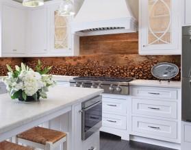 ROZSYPANA KAWA - hartowany panel szklany do kuchni na wymiar