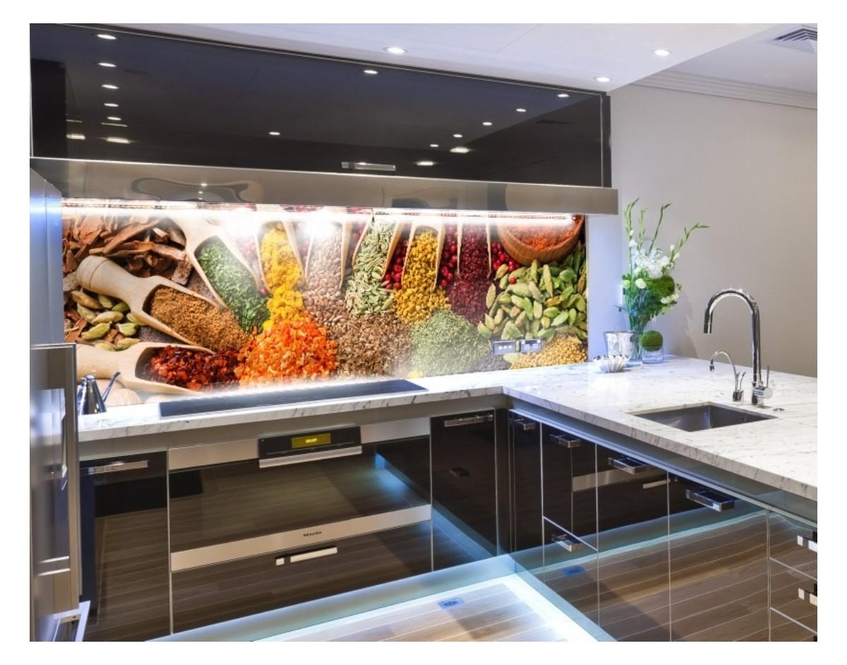 w przyprawach panel szklany hartowany do kuchni na wymiar dekoracje cienne sklep. Black Bedroom Furniture Sets. Home Design Ideas