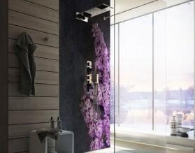 BEZ - hartowany panel szklany do łazienki