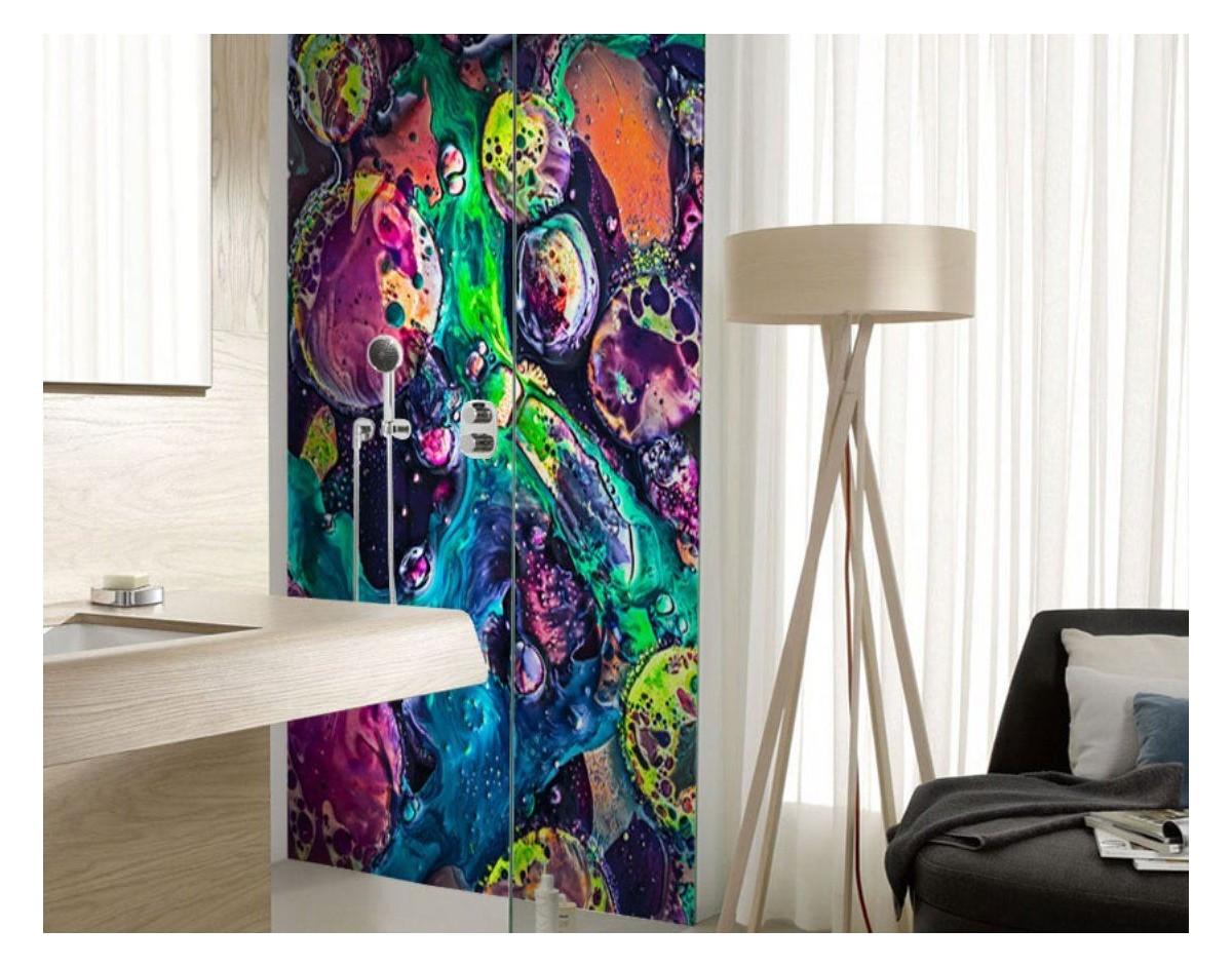 Dekoracje szklane - motyw Abstrakcja