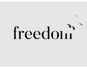 FREEDOM - nowoczesny obraz na płótnie - grafika