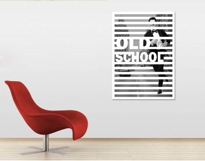 OLD SCHOOL - designerski obraz na płótnie
