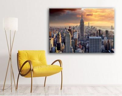 NEW YORK SKYLINE - obraz na płótnie