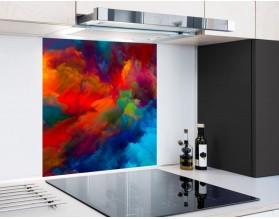 BURZA BARW - hartowany panel szklany