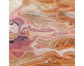 MARMUR Z MASĄ PERŁOWĄ - hartowany panel szklany - grafika