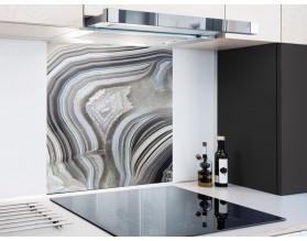 STRUKTURA AGATU - hartowany panel szklany