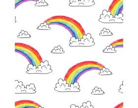 RAINBOW - tapeta dziecięca - grafika