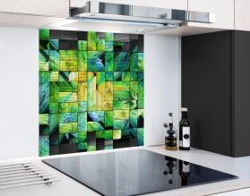 FRAKTALNA SZACHOWNICA - hartowany panel szklany