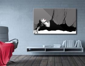BLACK DRESS - obraz na płótnie