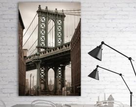 MANHATTAN BRIDGE - obraz na płótnie
