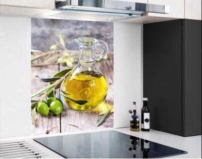 DZBAN Z OLIWĄ - hartowany panel szklany
