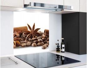 PRZYPRAWY DO KAWY - hartowany panel szklany
