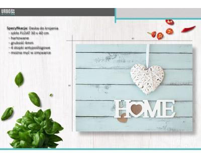 HOME - szklana deska do krojenia