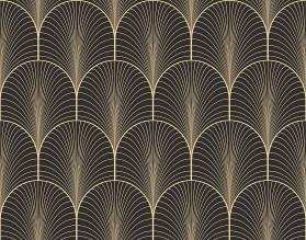 ZŁOTE ŁUKI - hartowany panel szklany - grafika