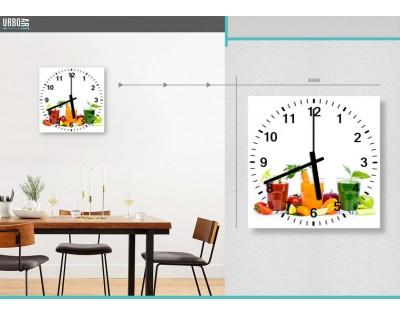 KOKTAJLE ENERGETYCZNE - zegar szklany