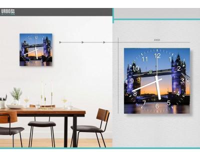 LONDON TOWER BRIDGE - zegar szklany