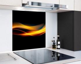 OGIEŃ - hartowany panel szklany