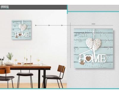HOME- zegar szklany