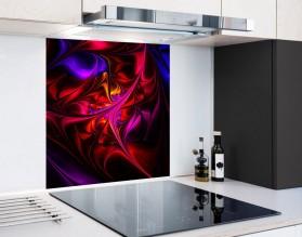 FRAKTAL 01 - hartowany panel szklany