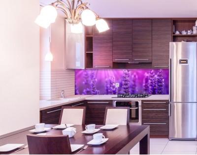LAWENDA W SŁOŃCU - panel szklany na wymiar