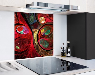 FRAKTALNE KULE - panel szklany