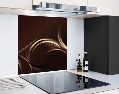 FALA CAPPUCCINO - hartowany panel szklany