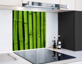 BAMBUSOWY LAS - panel szklany