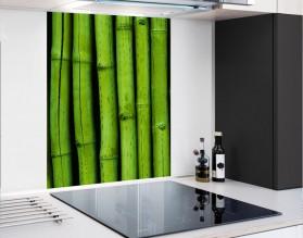 BAMBUSY - panel szklany - grafika