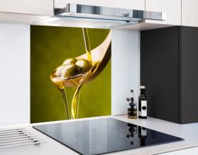ŁYŻKA OLIWEK - hartowany panel szklany