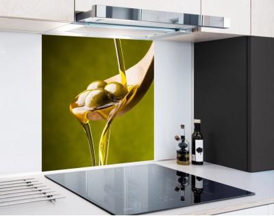 ŁYŻKA OLIWEK - panel szklany