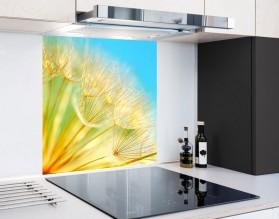 SŁONECZNY DMUCHAWIEC - hartowany panel szklany