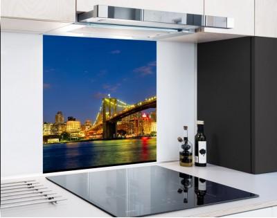 NEW YORK MOST BROOKLYŃSKI - panel szklany