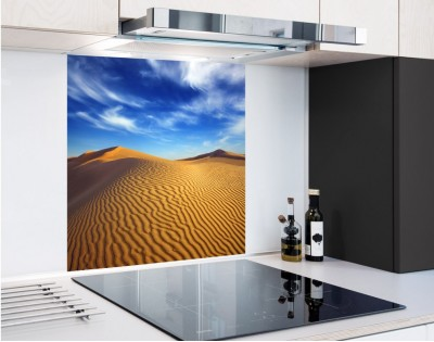 PUSTYNIA - panel szklany