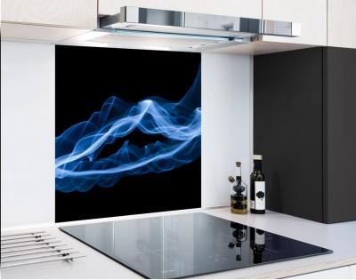 BLUE SMOKE - panel szklany