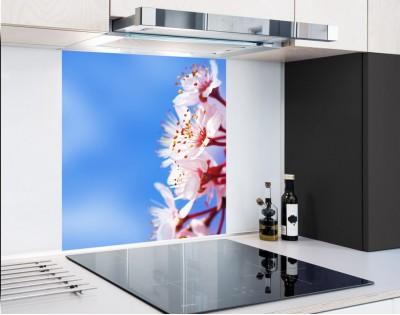 KWIAT WIŚNI - panel szklany