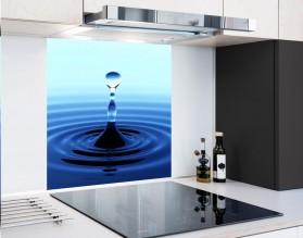 BLUE DROP - hartowany panel szklany