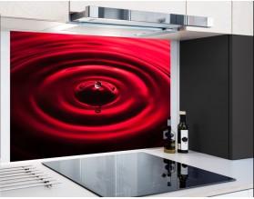 RED DROP - hartowany panel szklany